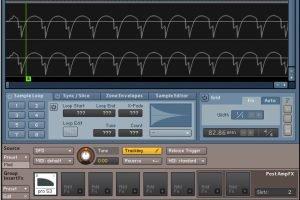 Sampling virtual instruments