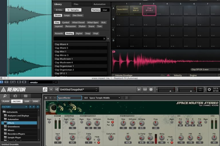 Creating transition effects
