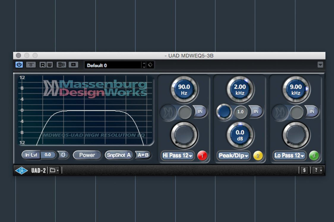 High and low EQ cuts